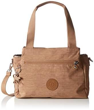 Kipling Women's Elysia Bp Shoulder Bag - Brown (Dazz Tobacco)