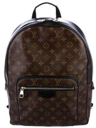Louis Vuitton 2016 Monogram Macassar Josh Backpack