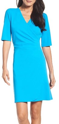 Women's Adrianna Papell Ruched A-Line Dress $129 thestylecure.com