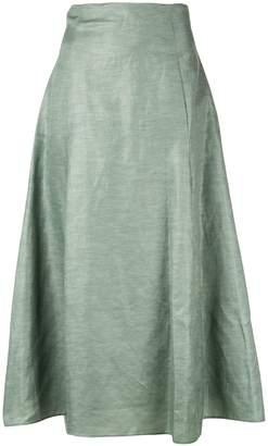 PARTOW mid-length skirt