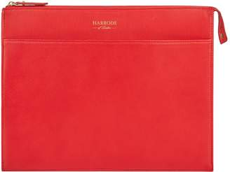 Harrods Medium Leather Portfolio