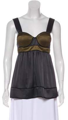 Proenza Schouler Silk Sleeveless Top
