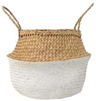 3R Studios Seagrass Basket With Handles (19