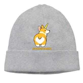 Corgi RNG Cute Unicorn Unisex Knitted Hat Warm Knitting Beanies Caps