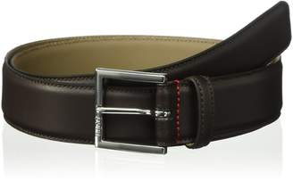 HUGO BOSS Men's Hugo Dress Fashion Leather Belt Accessory