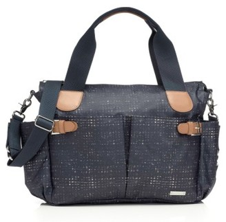 Infant Storksak 'Kay' Diaper Bag - Blue $150 thestylecure.com