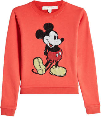 Marc Jacobs Sweatshirt with Sequin Embellishment