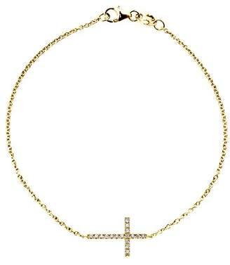 Diamonds & You Bracelet Necklace Yellow Gold 18 cts Vendôme Diamond 0.2 cts 18 cm-AM- now CIRC 020 J dFR8O8zOn3