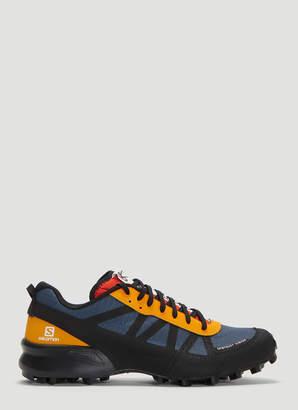 dv District Vision X Salomon Mountain Raver Sneakers in Navy
