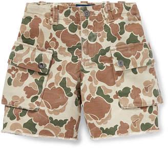 Ralph Lauren Childrenswear Camo Cargo Shorts, Size 5-7