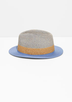7f57968cbc2d2 at And Other Stories · And other stories Straw Fedora Hat