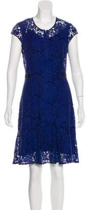 Rebecca Taylor Lace Knee-Length Dress