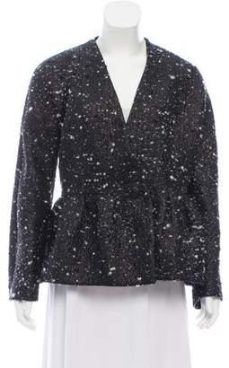 Balenciaga Wool-Blend Structured Blazer w/ Tags