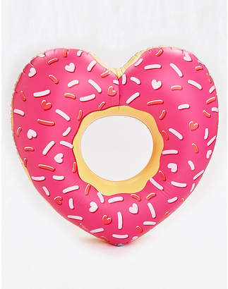 aerie BigMouth Heart Donut Pool Float