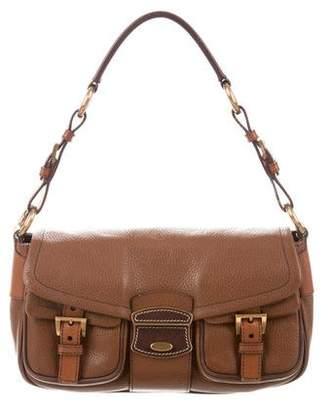 Prada Vitello Daino Push-Lock Bag