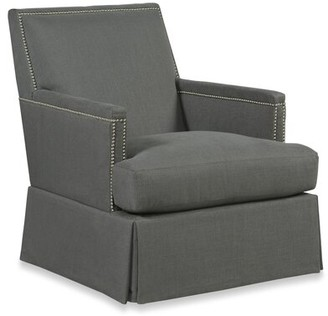 Fairfield Chair Ericson Armchair Fairfield Chair Nailhead Detail: Aged Bronze, Upholstery Color: 8790 Bark