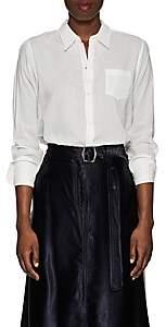 Nili Lotan Women's NL Slub Cotton Shirt - Ivory