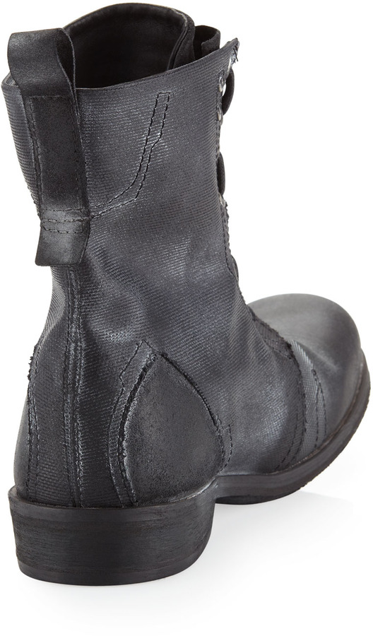 Rogue Lecas Zip-Front Boot, Black