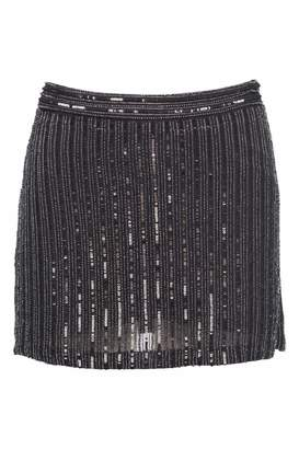 MLV Black Beaded Skirt