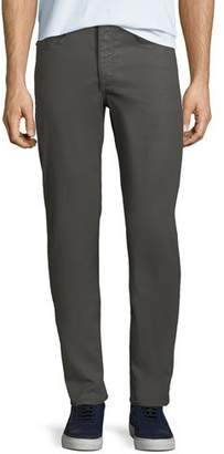 Rag & Bone Men's Standard Issue Fit 2 Mid-Rise Relaxed Slim-Fit Chino Pants, Gray