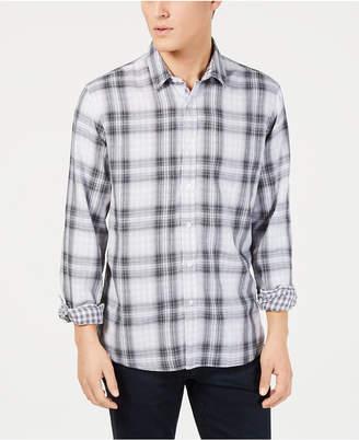 American Rag Men's Plaid Woven Shirt
