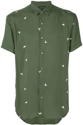 Emporio Armani logo print shirt