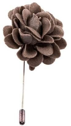 Lanvin Floral Lapel Pin w/ Tags
