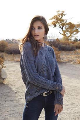Elan International Distressed Sweater