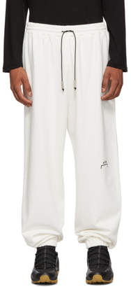 A-Cold-Wall* White Logo Lounge Pants