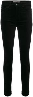 D-Exterior D.Exterior velvet skinny trousers