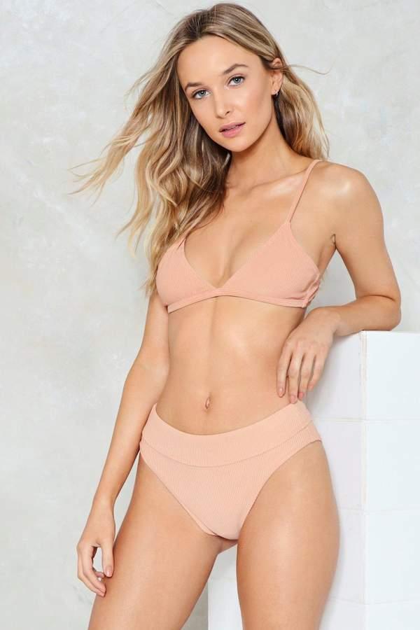nastygal Nasty Gal Alina Mix & Match High-Waisted Bikini Bottom
