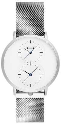 Uri Minkoff Griffith Mesh Strap Watch, 43mm