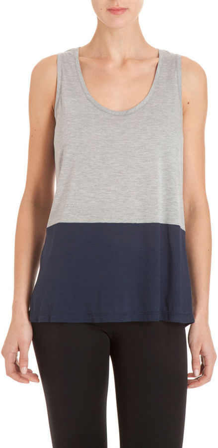 Barneys New York CO-OP Colorblock Tank