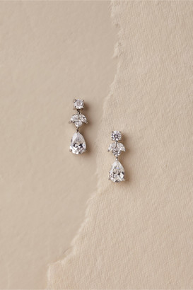 Kenneth Jay Lane Petite Crystal Drop Earrings