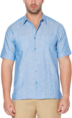 Cubavera Short Sleeve Tucks 2 Pocket Shirt