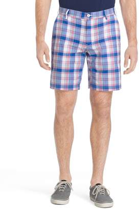 Izod Men's Classic-Fit Madras Plaid Shorts