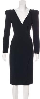Tom Ford Crepe Midi Dress