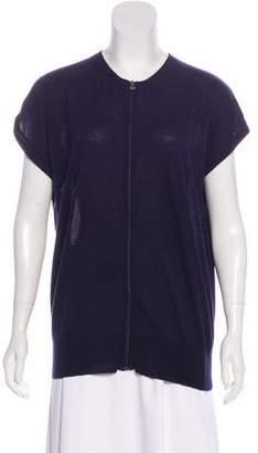 Prada Sport Knit Button-Up Cardigan