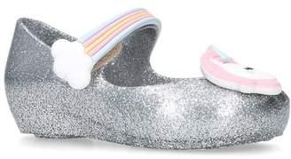 Mini Melissa Ultra-Girl Unicorn Jelly Shoes