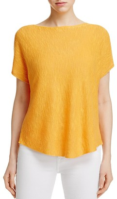 Eileen Fisher Short Sleeve Boxy Sweater $138 thestylecure.com