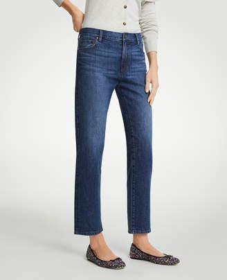Ann Taylor Straight Crop Jeans