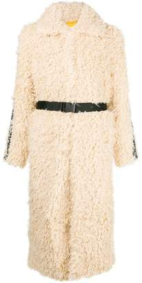 Pinko oversized shearling coat