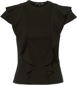 Veronica Beard Bea Ruffle T-Shirt