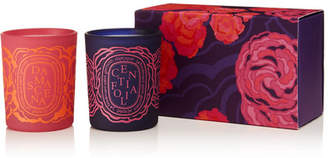 Diptyque Centifolia And Damascena Set Of Two Scented Candles, 2 X 70g - Pink