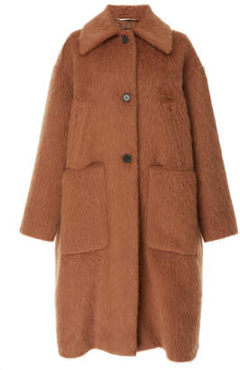Rochas A-Line Long Coat