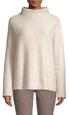 Lafayette 148 New York Cashmere Funnelneck Sweater