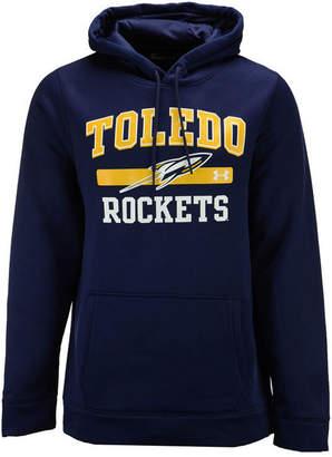 Under Armour Men Toledo Rockets Speedy Armour Fleece Hoodie