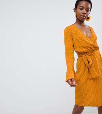 Vero Moda Petite Dot Wrap Dress