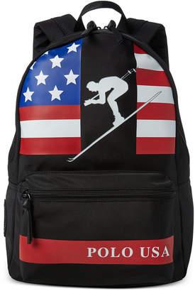 Polo Ralph Lauren Men Water-Repellent Downhill Skier Backpack
