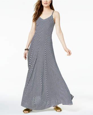INC International Concepts I.n.c. Striped Sleeveless Maxi Dress, Created for Macy's